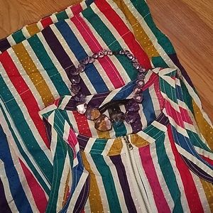Marc by Marc Jacobs Stripe Zip Dress